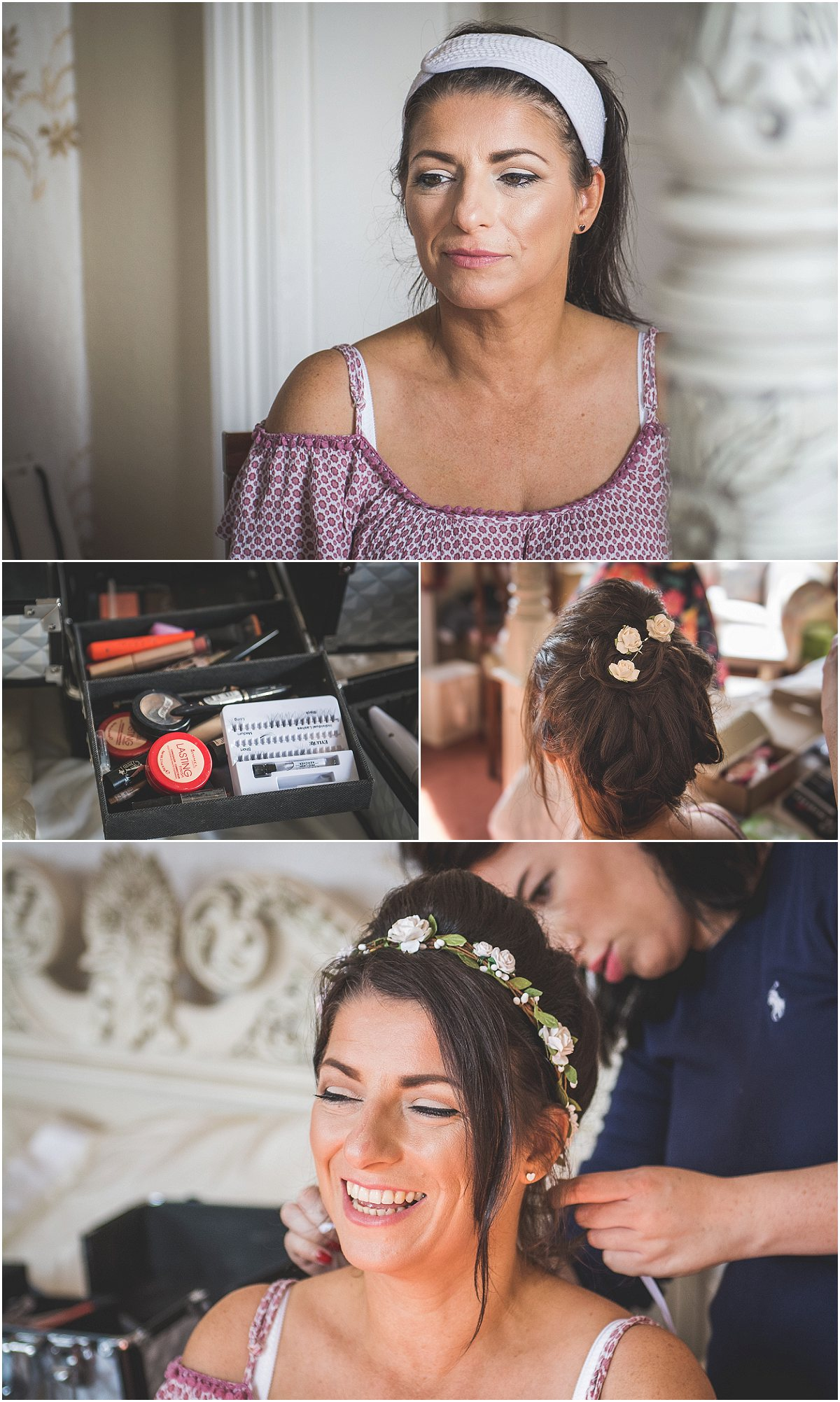 Bridal Prep at Low Wood Hall Hotel, Wast Water Wedding Photography