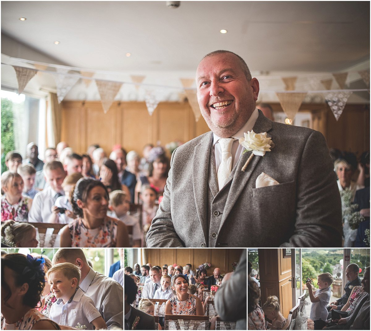 Groom at Low Wood Hall Hotel, Wast Water Wedding Photography
