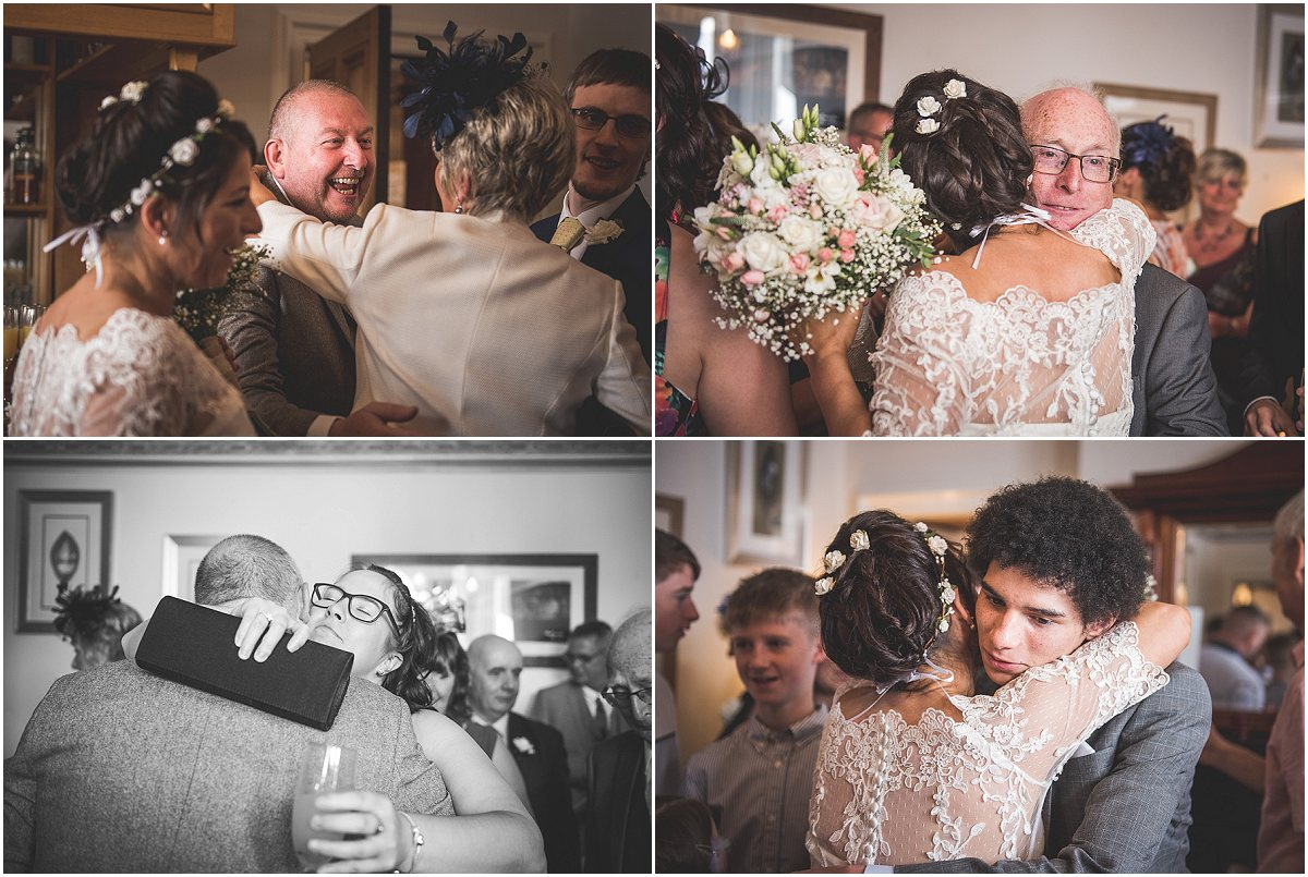 Congratulations Mr & Mrs Cole at Low Wood Hall Hotel, Wast Water Wedding Photography