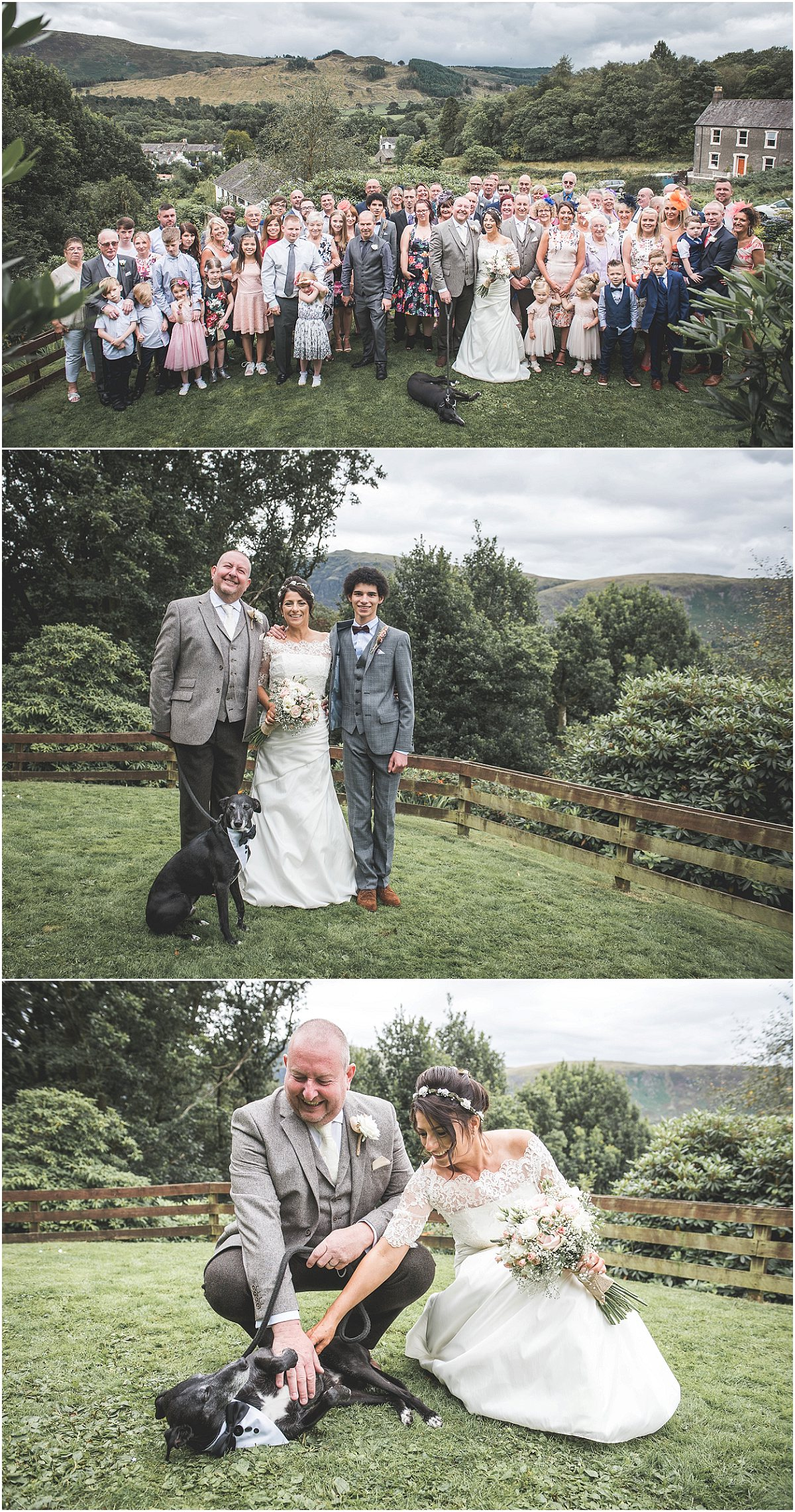 Family Shots at Low Wood Hall Hotel, Wast Water Wedding Photography