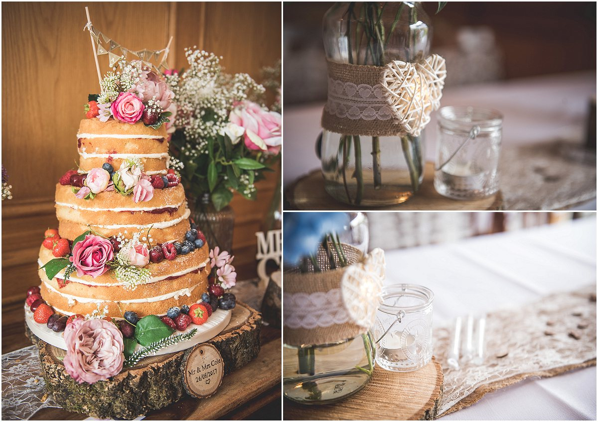 Wedding Decorations at Low Wood Hall Hotel, Wast Water Wedding Photography