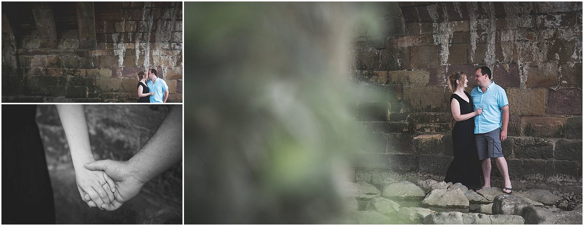 Engagement Photoshoot under Edisford Bridge | Preston Wedding Photographer
