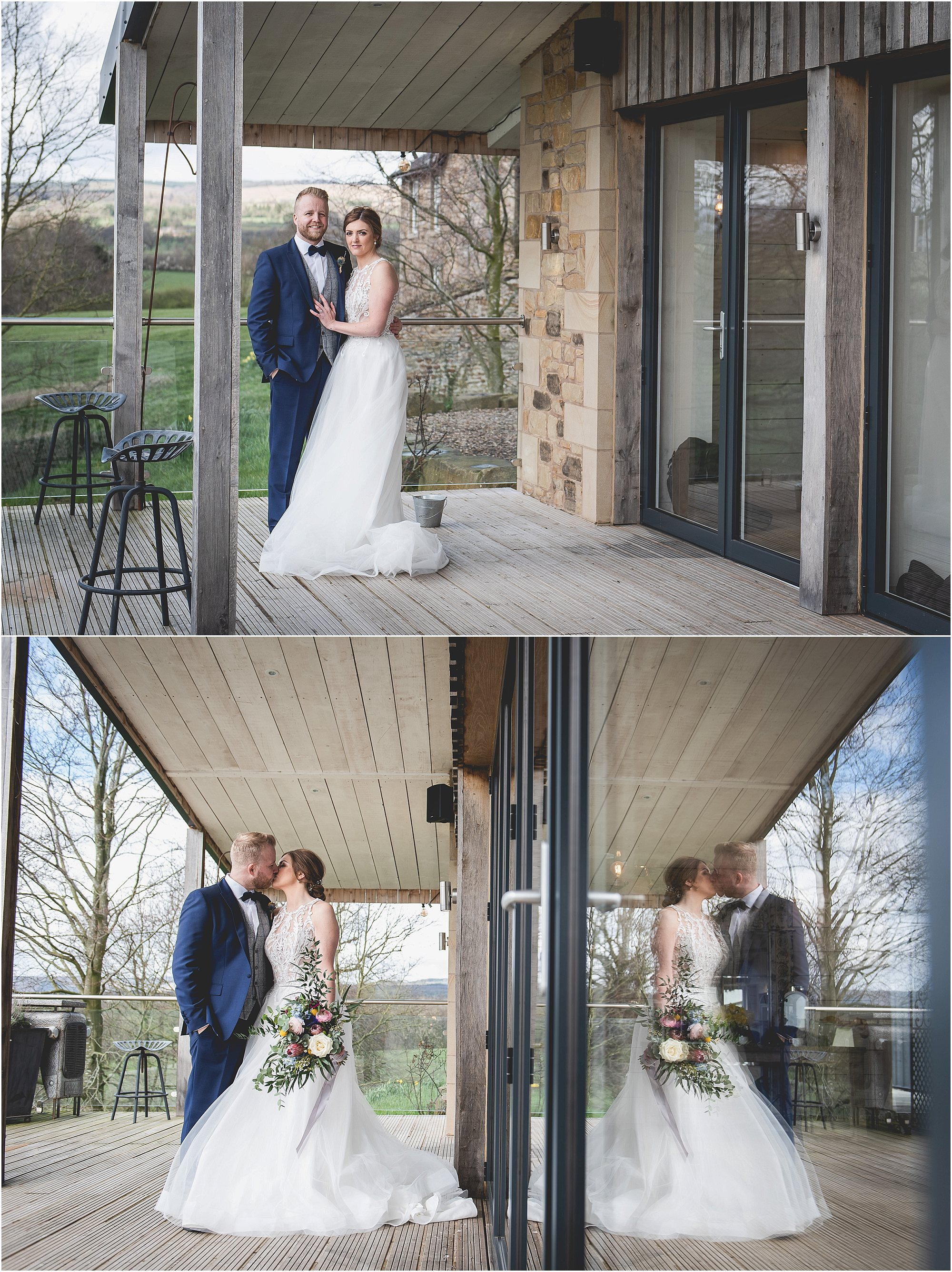 Reflection on their Wedding Day at Bashall Barn